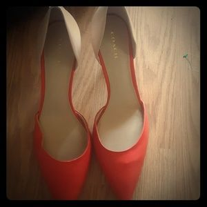Coach tan and salmon pumps size 9 new without box